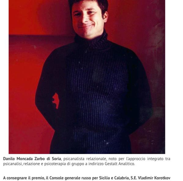 Rotary Club Riconoscimento alla carriera premio Siciliani di Pregio a Danilo Moncada Zarbo di Monforte